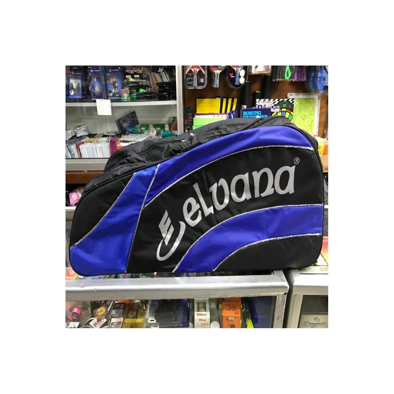 GROSIR Tas raket badminton Elvana 3 resleting murah