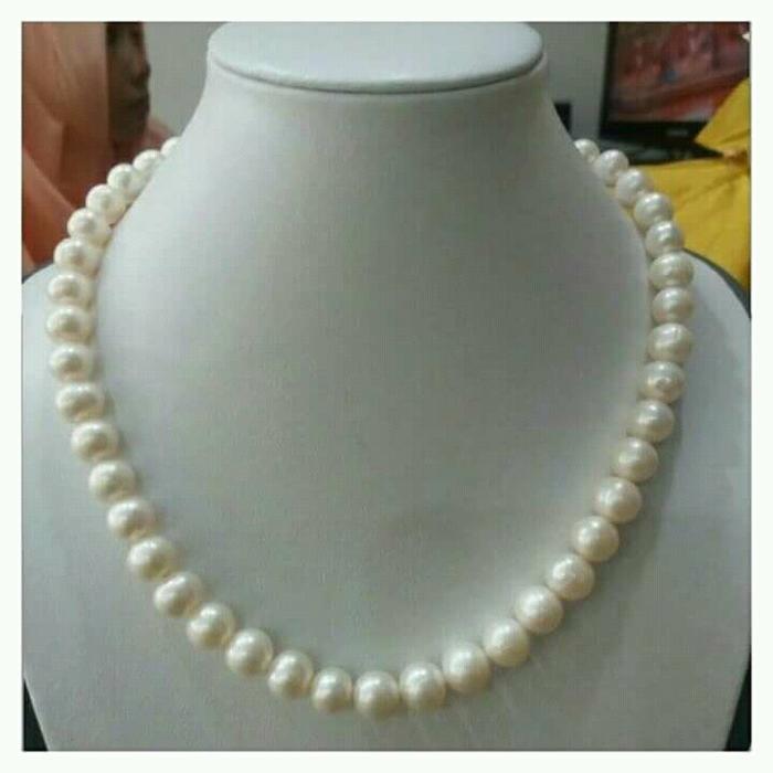 Perhiasan Kalung Full Mutiara Tawar / Mutiara Lombok / Mutiara Asli By Lombok_pearls.