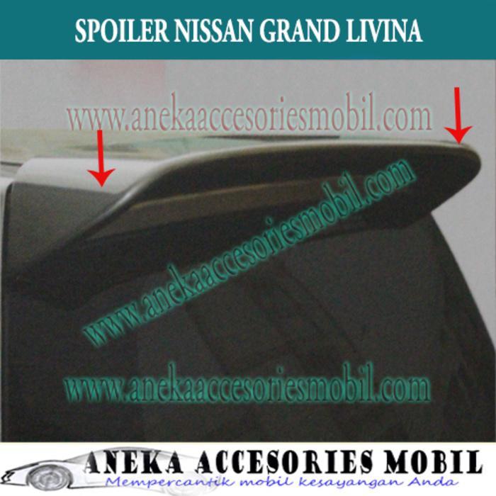 Spoiler Mobil Nissan Grand Livina