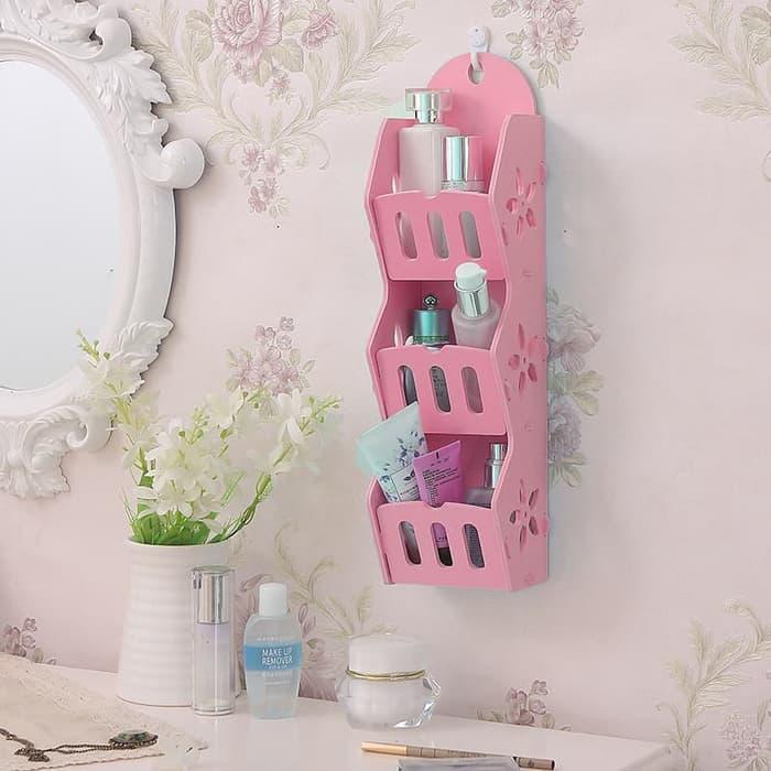 Promo Murah / MH50300 Storage Decorative Rack Shabby chic / Bisa Untuk Rak kosmetik hp remote