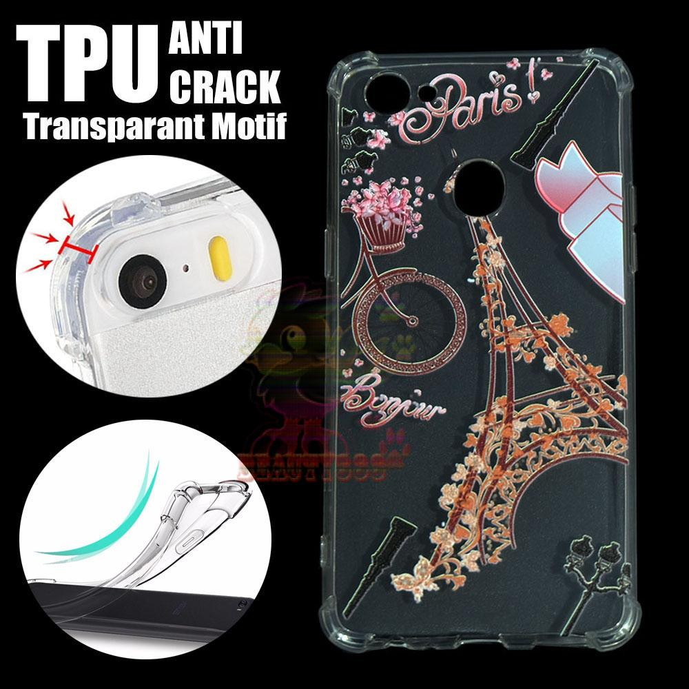 Buy Sell Cheapest Getek Paris Eiffel Best Quality Product Deals Miniatur Menara Unik 25cm Beauty Case Anti Crack Oppo F7 3d Luxury Animasi Vintage Softcase Jamur Air 03mm Silicone Silikon Shock