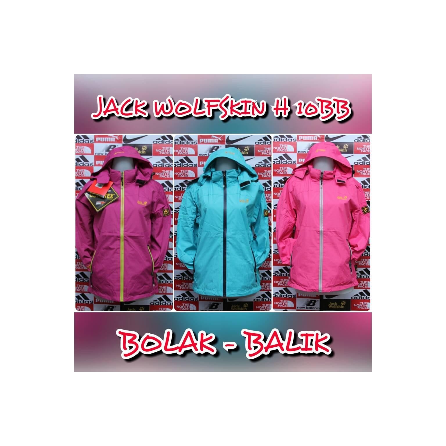 JAKET GUNUNG / OUT DOOR JACK WOLFSKIN H-10 LADIES (BOLAK-BALIK) EIGER