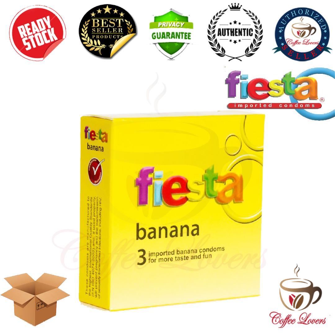 Beli Kondom Fiesta Banana Isi 3 Store Marwanto606 Durex Pleasuremax Kontrasepsi