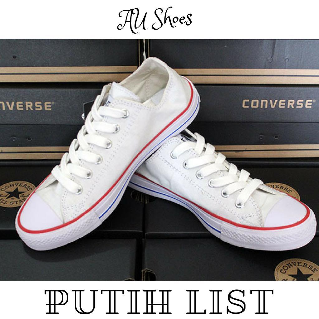 Daftar Harga Jaket Converse Putih Termurah November 2018 Cari Dan Sepatu Classic All Star Low Pria Wanita Sneakers Casual