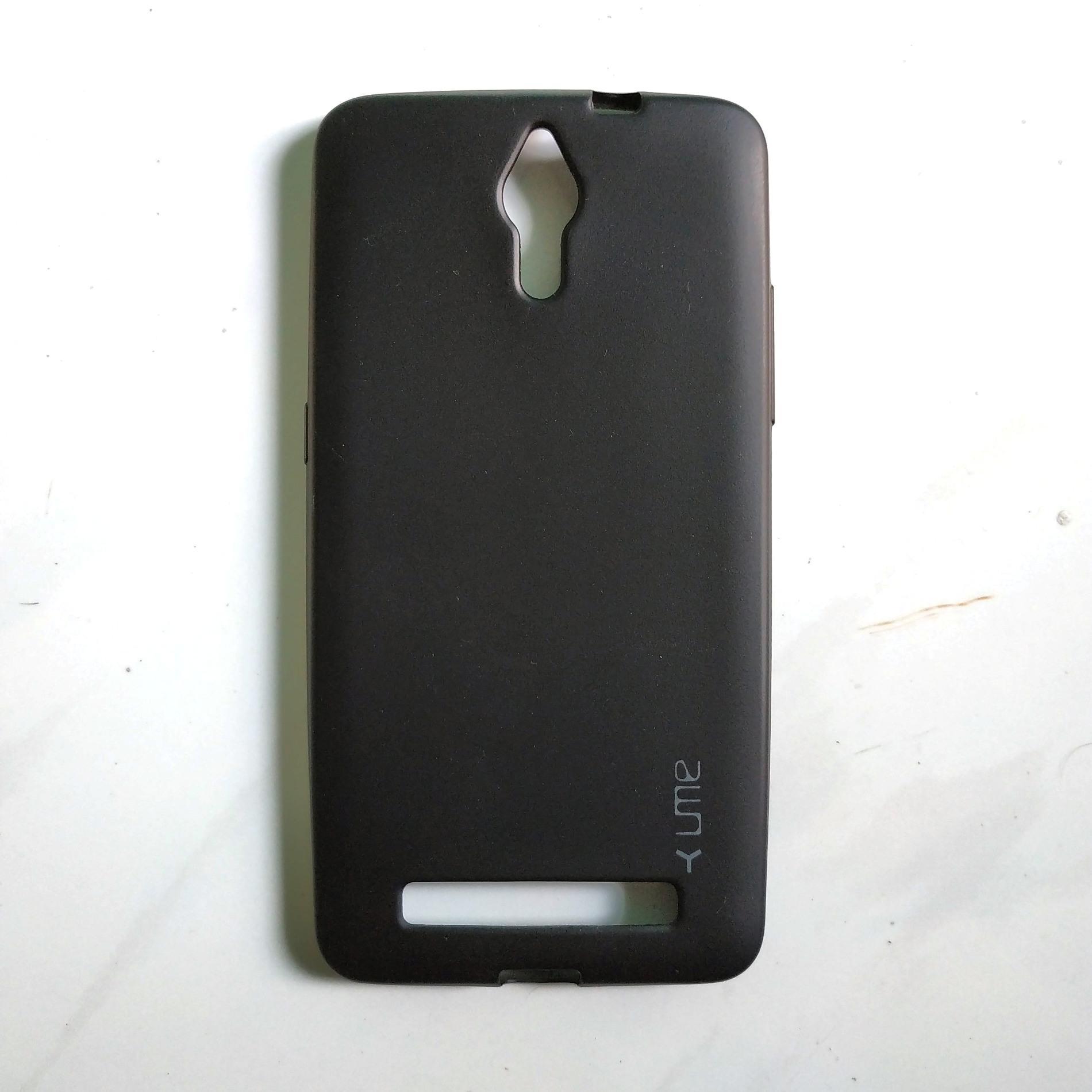 Jelly Case Ume Emerald Softcase untuk Coolpad Roar Plus E570 Casing Ultra thin Soft case TPU Doff C