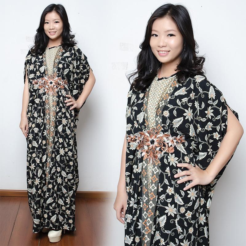 SB Collection Dress Maxi Birdena Longdress Kaftan Gamis Jumbo Batik Wanita