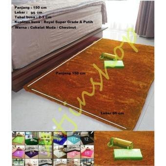 Pencarian Termurah Tjin- Karpet Bulu Rasfur Busa Super Empuk Berkualitas 150x100X3Cm [Ready 16 Warna] harga penawaran - Hanya Rp119.190