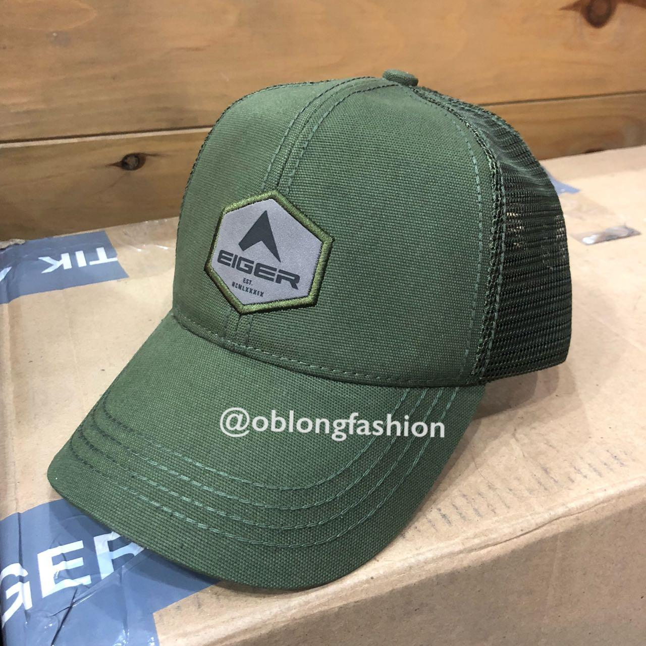 Eiger New Space Trucker Topi Eiger - Olive