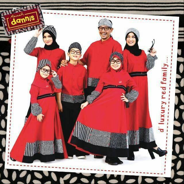 Dannis d'Luxury Red Family Sarimbit DS138 (Koko Anak Sz 3)