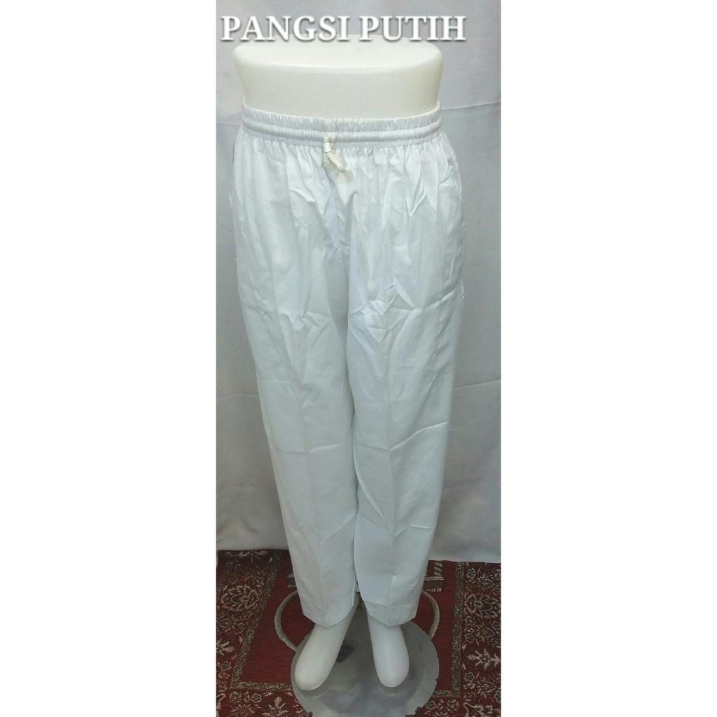 Celana Pangsi - Komprang Putih & Hitam Exclusive