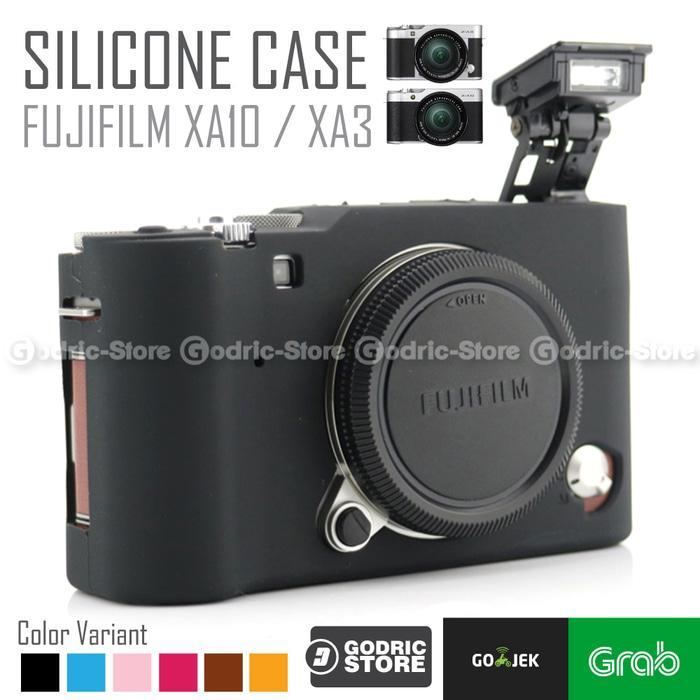 Promo Fujifilm X-A3 / XA3 X-A10 / XA10 Silicone Case / Sarung Silicon Kamera original