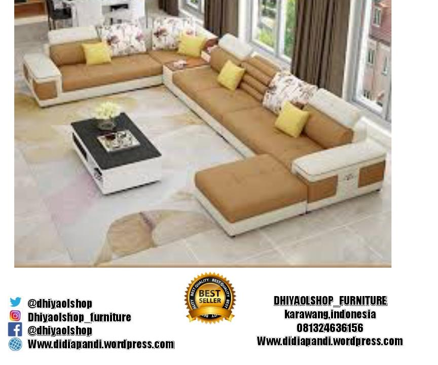 Kursi Sofa U Full Sett By Dhiyaolshop14.