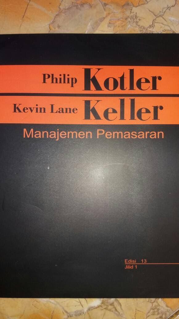 Best Seller!! Manajemen Pemasaran Jld 1 - Philip Kotler - ready stock