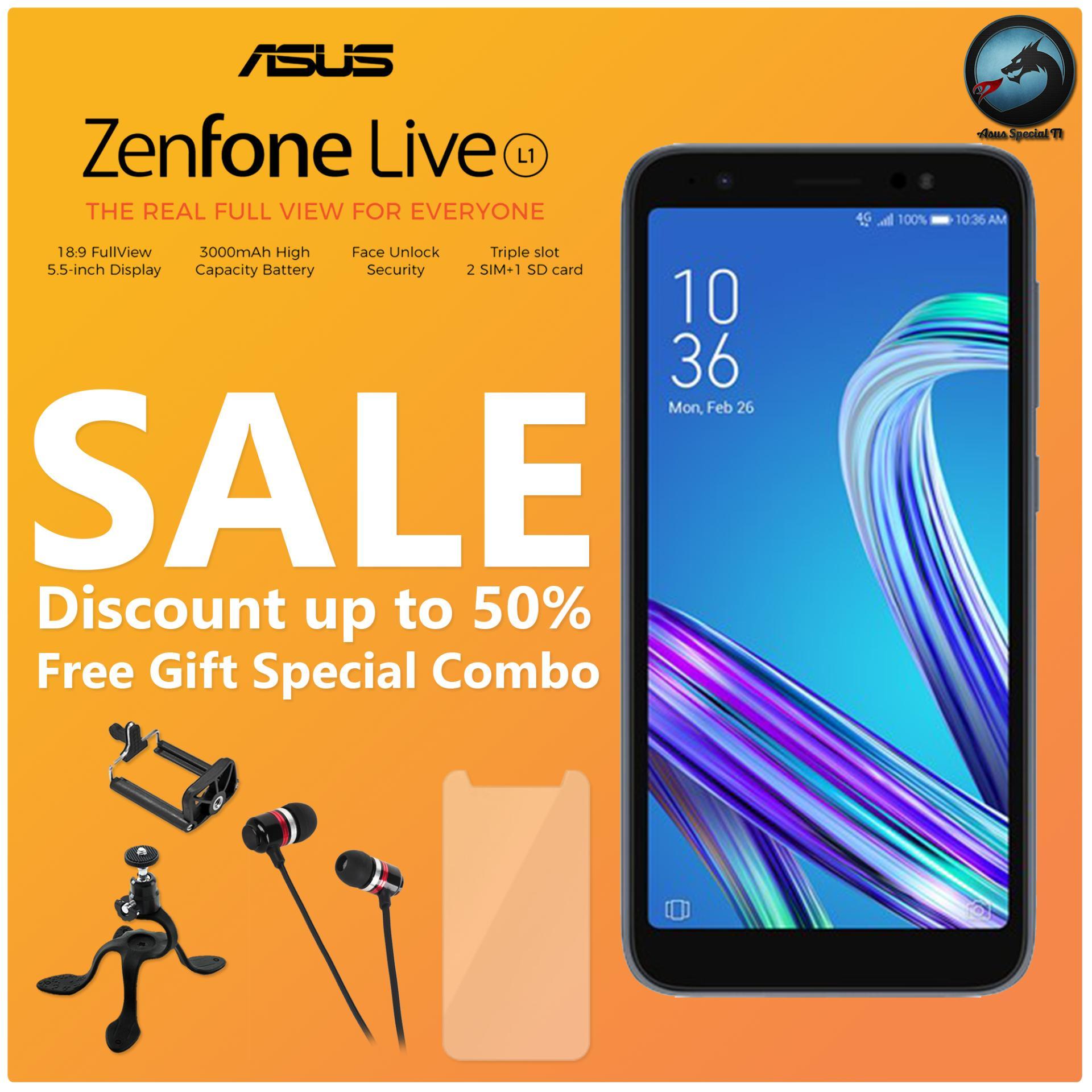 Asus Zenfone Live L1 ZA550KL Garansi Resmi + Free Gift Special Combo
