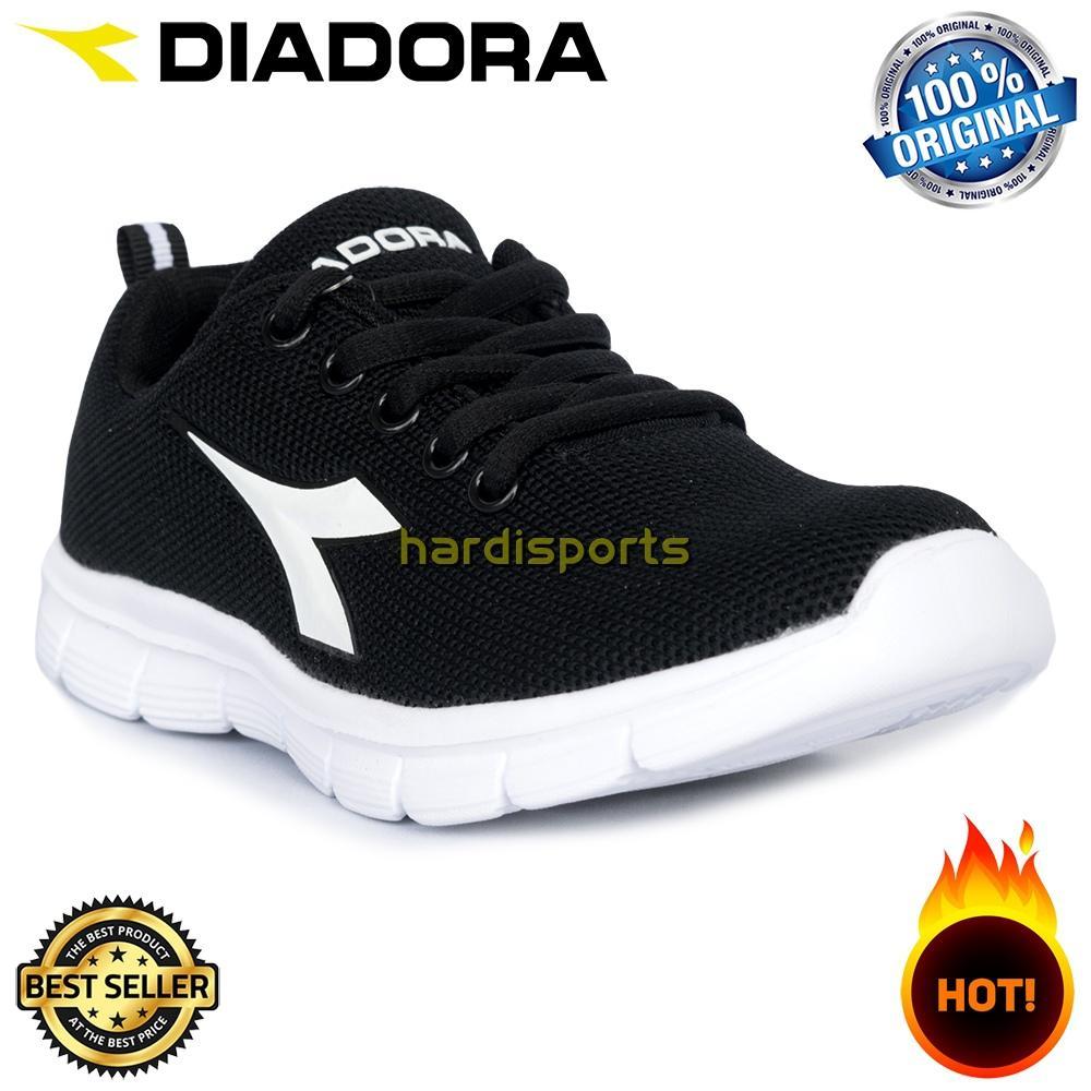 Sepatu Sports Sneaker Anak Diadora Gima JR (B) DIACX7101BLK - Black
