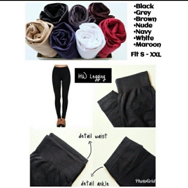 Princess Wardrobe - Basic Legging Import Super Stretch / Legging import XXXL / Legging jumbo