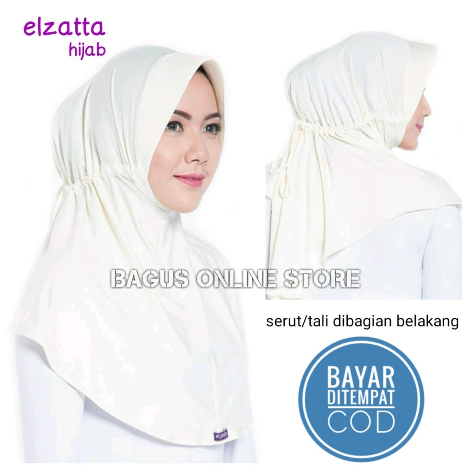 Hijab Elzatta / Jilbab Hijab Instan Bergo Kerudung Elzatta