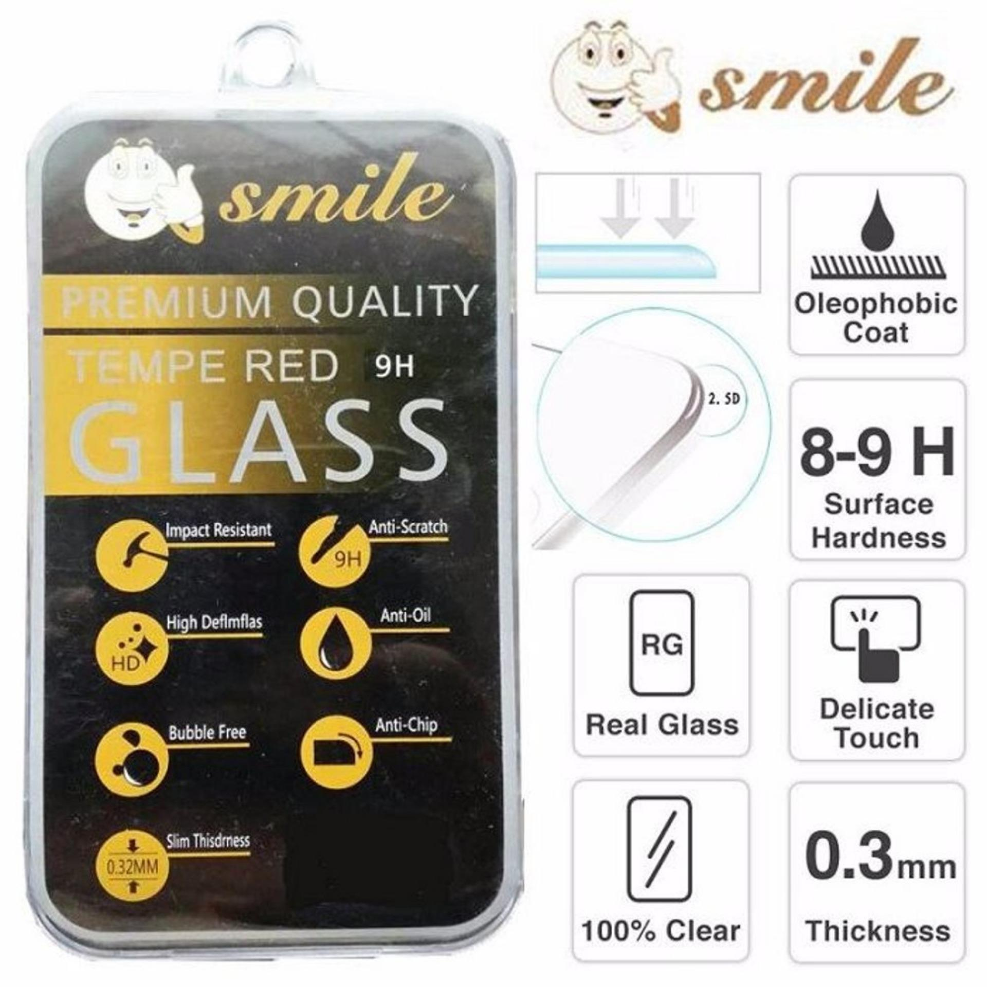Aldora Tempered Glass Anti Gores Kaca Pelindung Layar Smile Series For Xiaomi Mi NOTE BAMBU