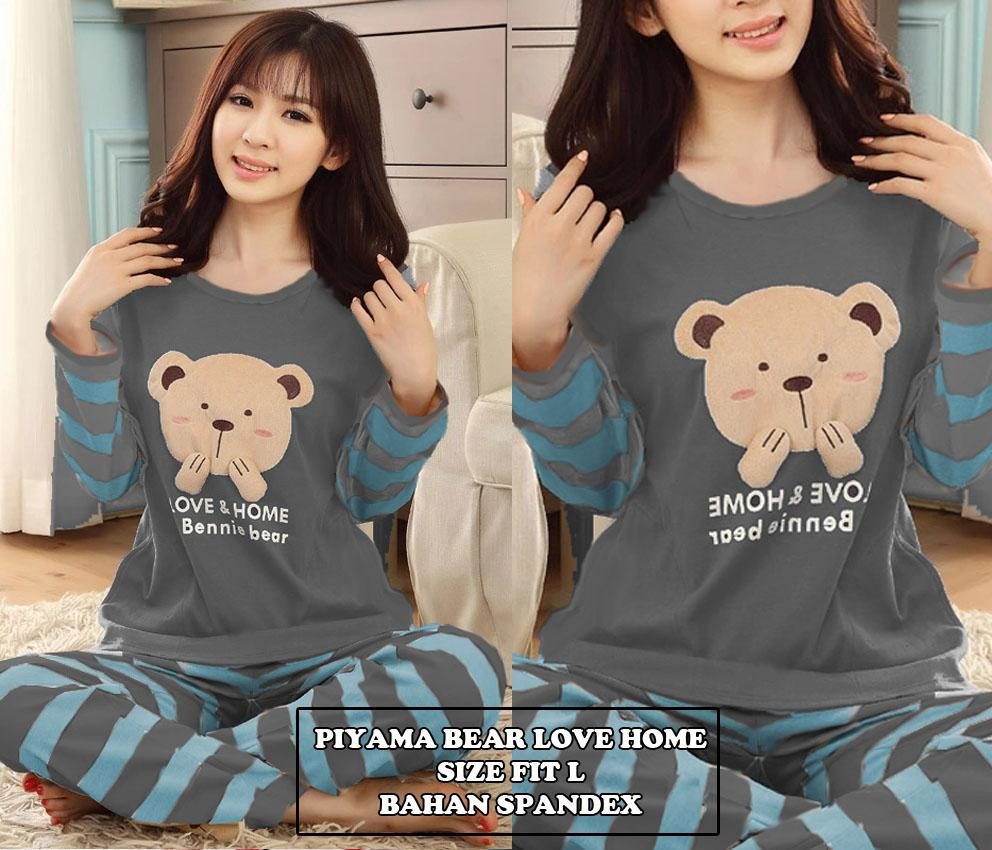 Buy Sell Cheapest Love And Home Best Quality Product Deals Kalung Bear Piyama