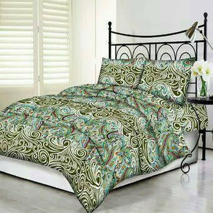 Sprei/Spray/Seprai/Sepray Motif Batik Goya Uk.160X200 Kintakun / Model