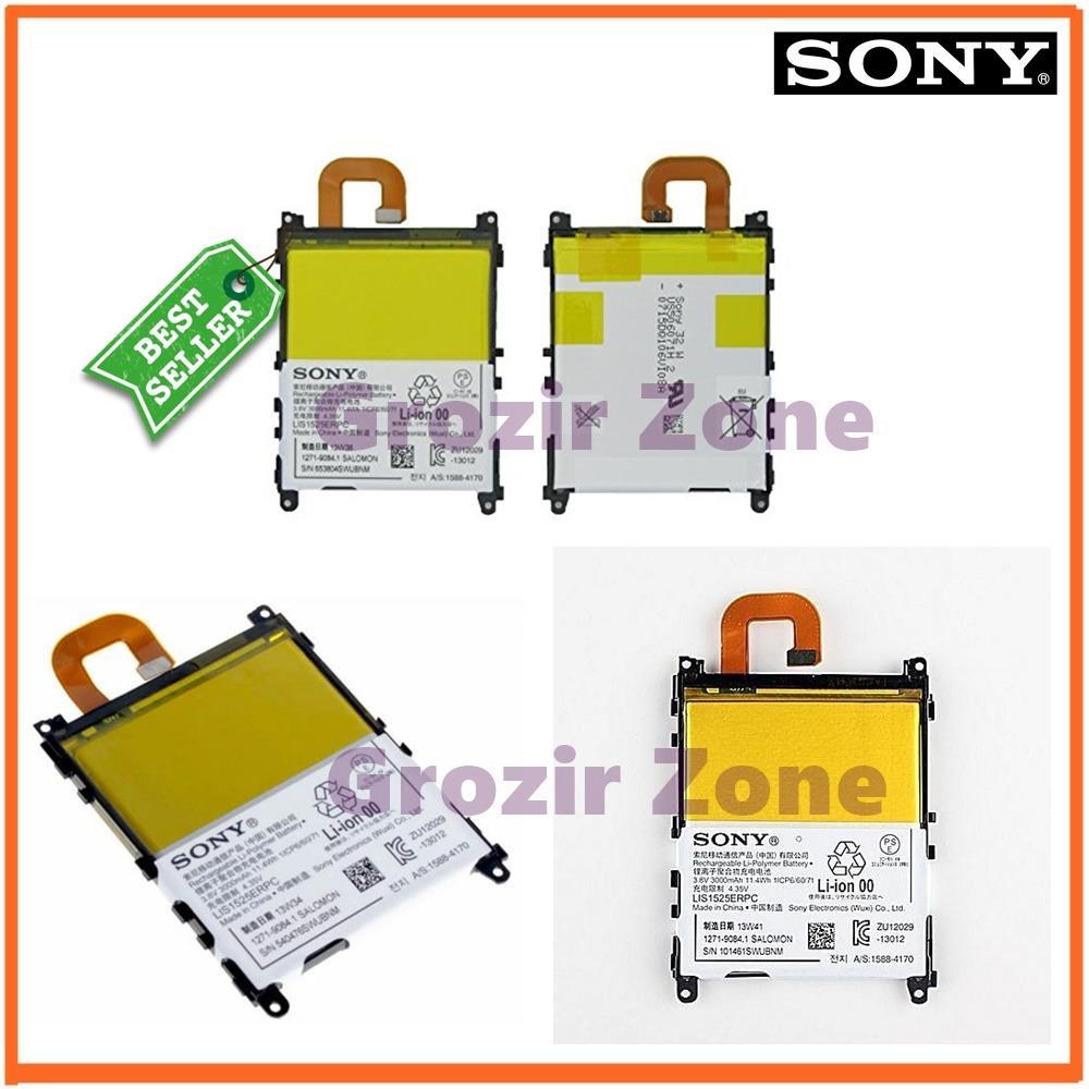 Sony Baterai / Battery Xperia Z1 / L39H Original - Kapasitas 3000mAh ( Grozir Zone )
