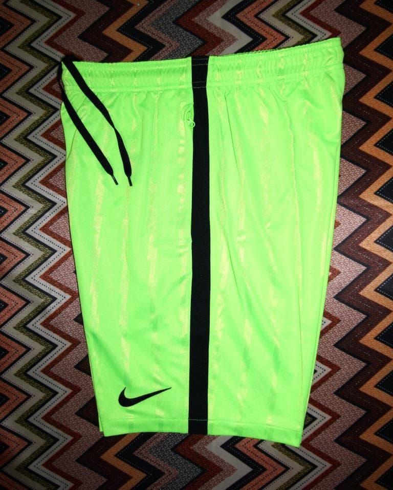 Celana Pendek NIKE Short Squad Futsal/Gym/Running Neon Green ORIGINAL