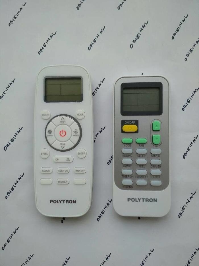 Remot - Remot Remote AC Polytron J1-05(E) / PAC- VX Original Asli Ori - ready stock