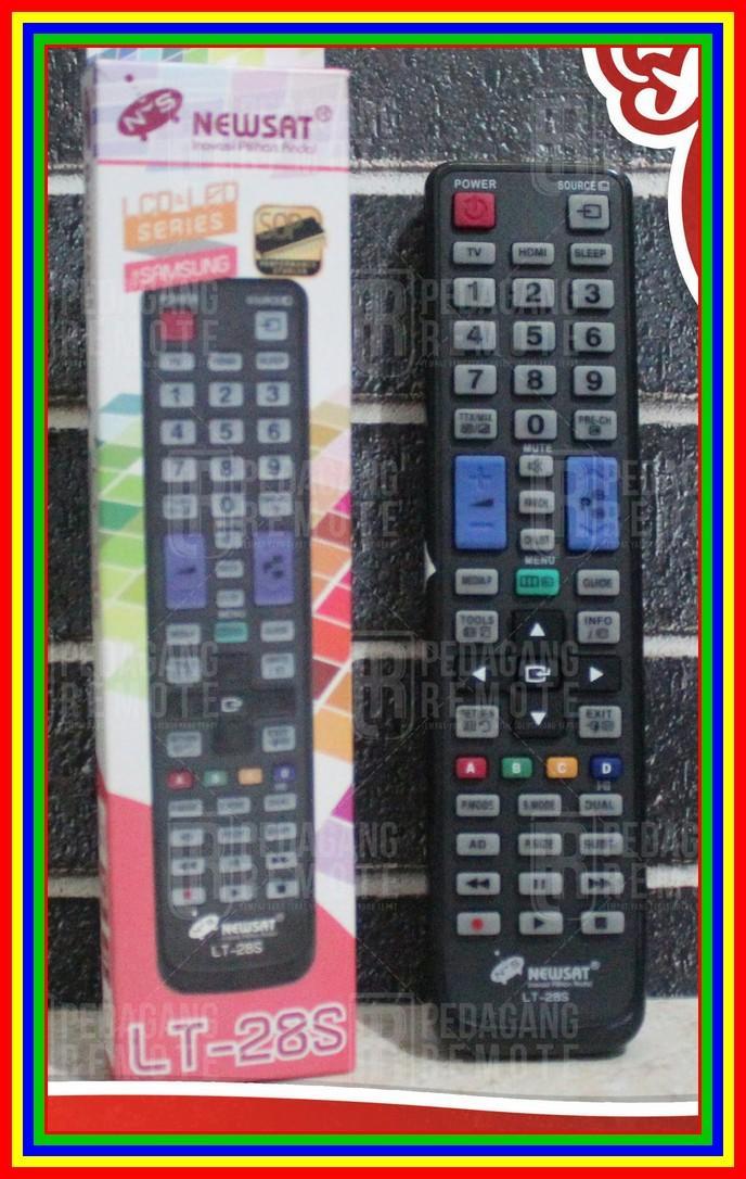 Remot Remote TV Samsung LCD LED Multi Universal Serba Guna