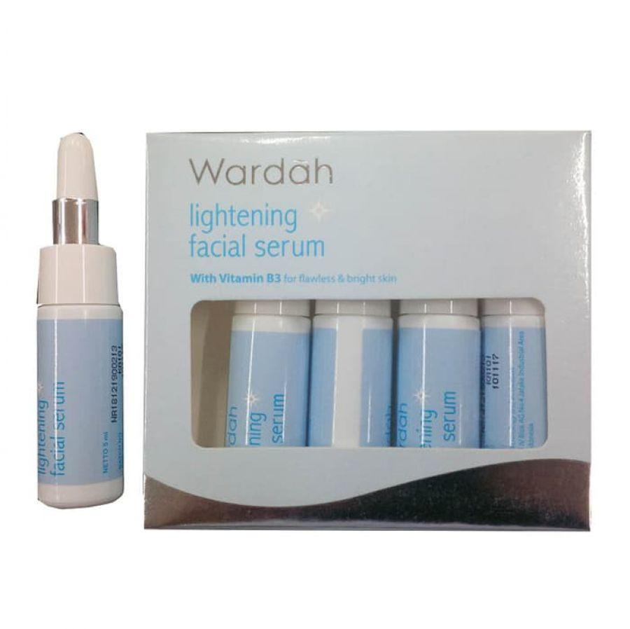 Beli Paket Wardah Step 2 Lightening Series Day Cream 30 Gr Night Skin Solution Facial Serum 5x5ml