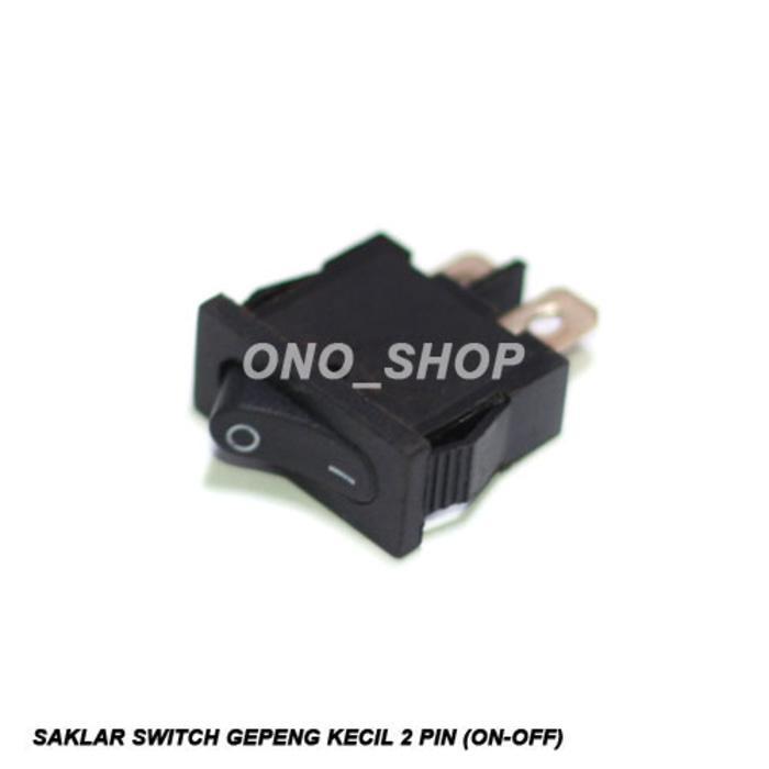 Saklar Switch Gepeng Kecil 2 Pin (ON-OFF)