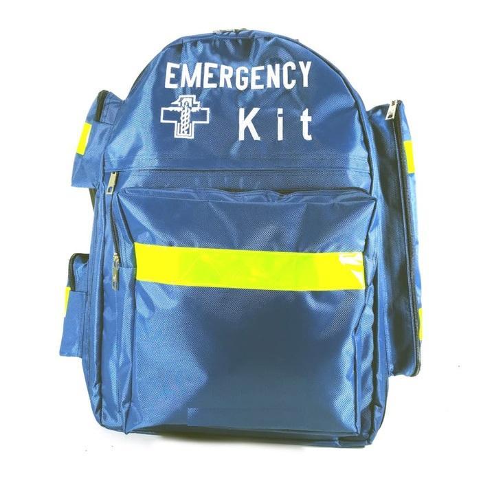 Emergency Kit Bag Merah Tas Perlengkapan Medis Tas P3K SAR First Aid - BIRU