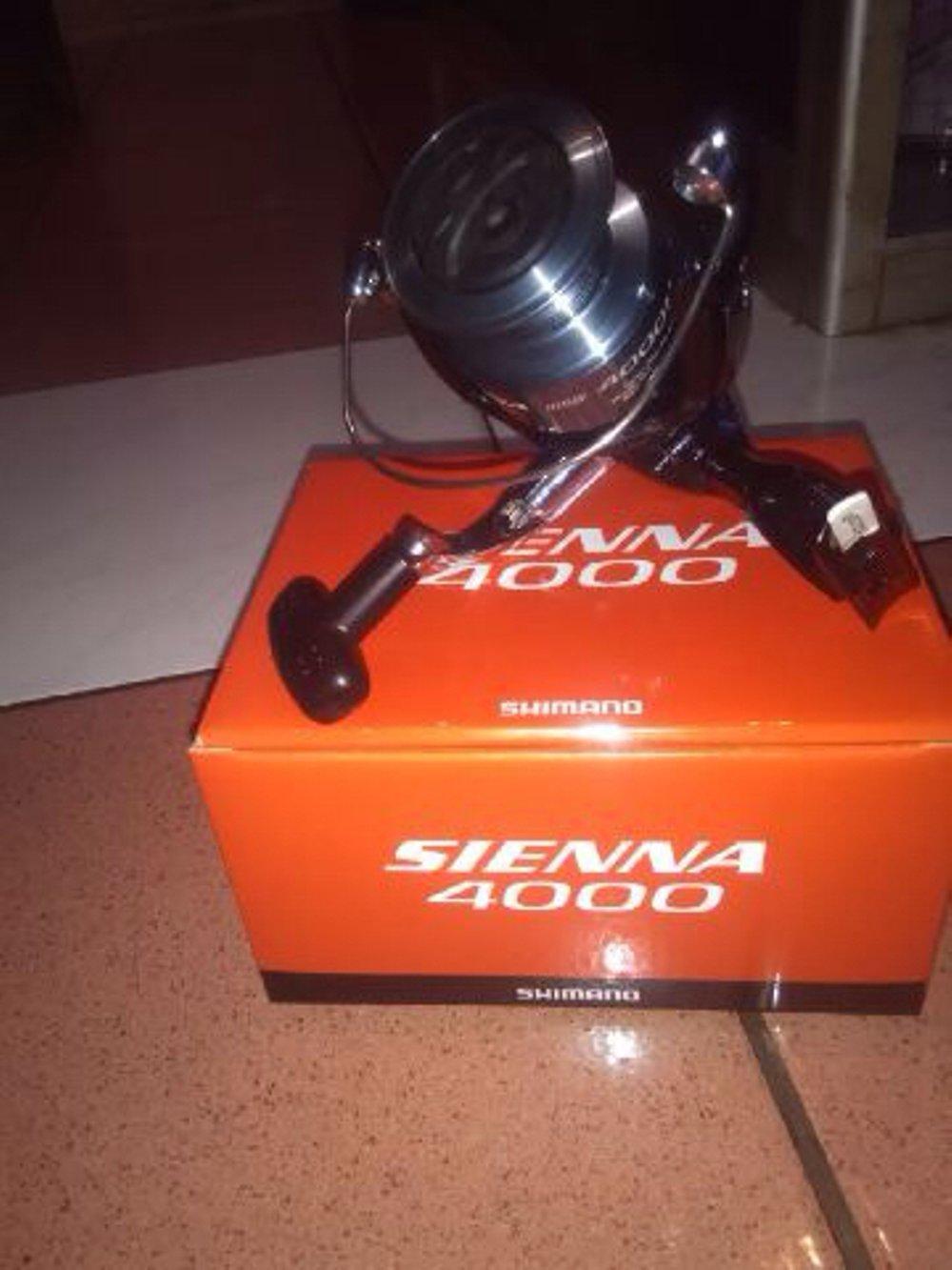 Reel Shimano Sienna 4000 Fe New TERBARU BOS PANCING zerya_fishing
