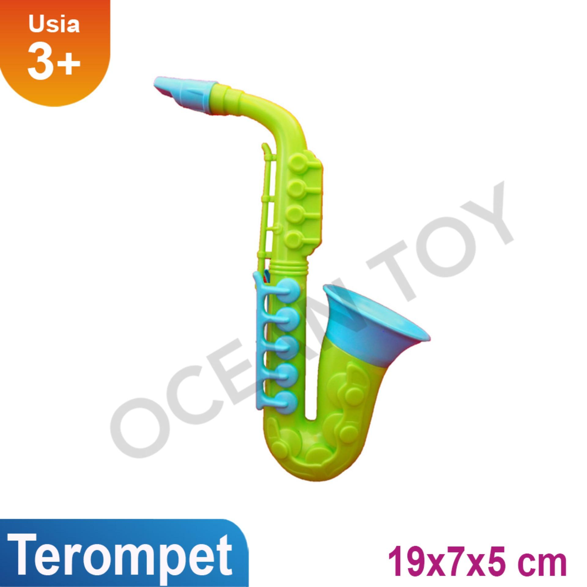 Terompet Mainan Musik Anak Ocean Toy - Oct3210 - Multicolor By Ocean Toy.