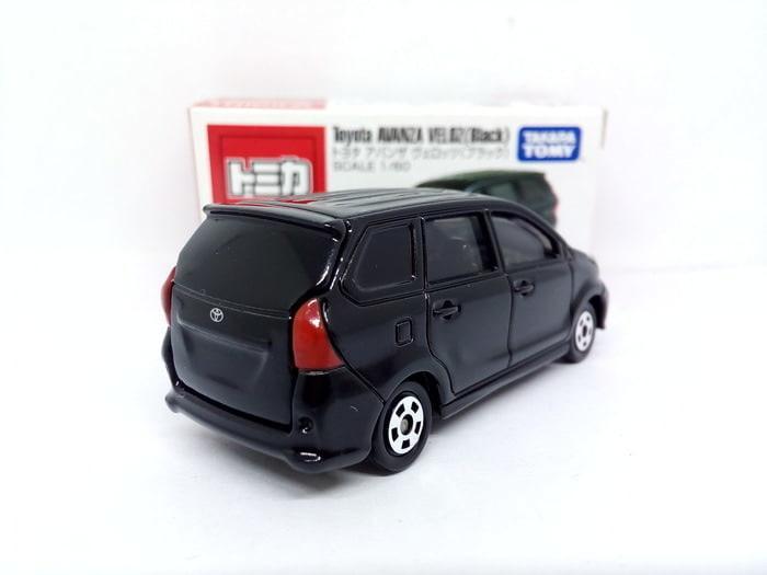 TERLARIS Tomica Miniatur Mobil Toyota AVANZA VELOZ Black Diecast Murah