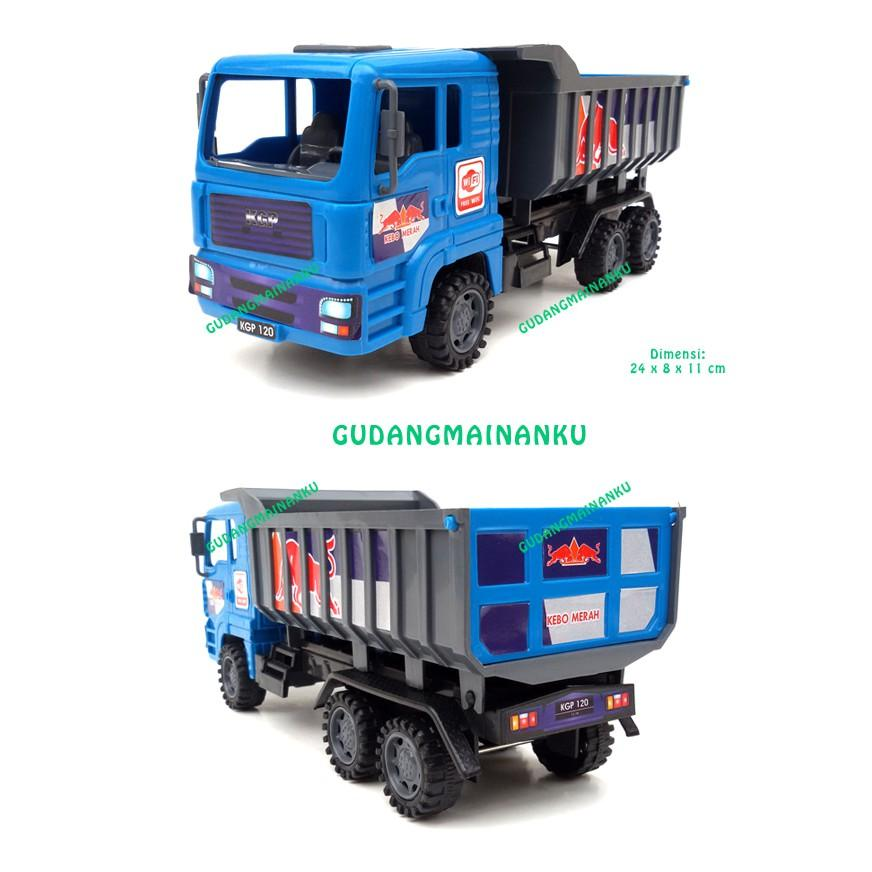 Mainan Mobil Truk Dump Truck Friction Mika - Hdfbv0