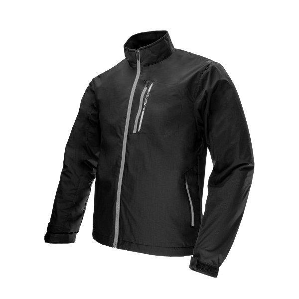 INVENTZO Fiato Alpha Black Grey - Jaket Motor Tahan Angin INVENTZO Fiato Alpha Black Grey - Jaket M