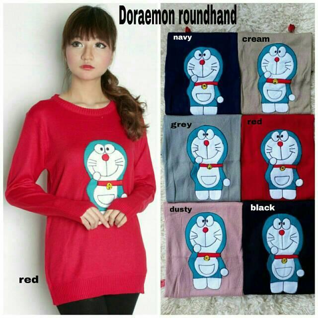 vshopjkt Doraemon rh Fashionable blouse bagus blus bagus kualitas baik baju wanita atasan wanita top wanita