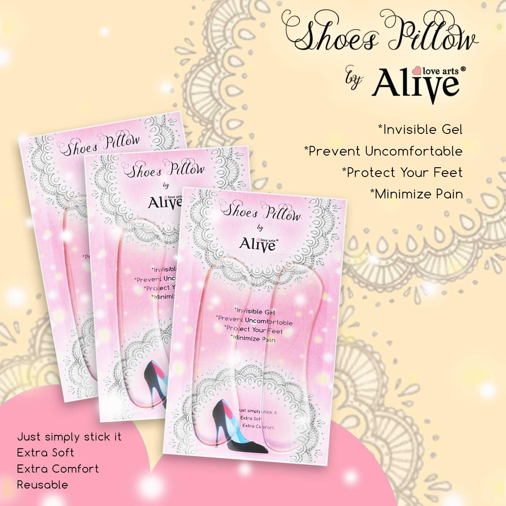 Aliveloveart Premium Shoes Pillow 1pcs