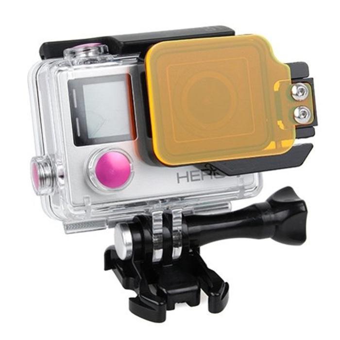 TMC Light Motion Night Under Sea Filter For Gopro Hero 4 / 3+ Orange