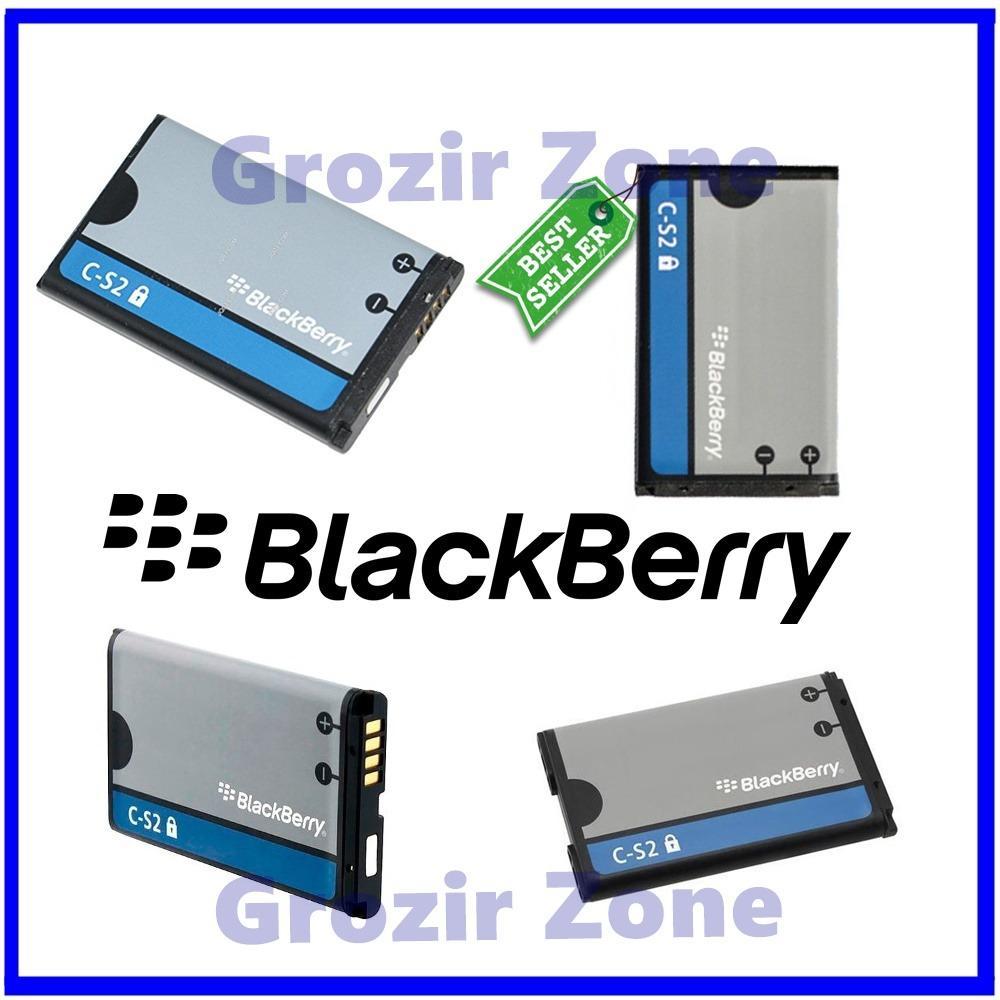 Blackberry Baterai / Battery C-S2 For Blackberry Gemini / 8520 / 9300 Original - Kapasitas 1200mAh ( Grozir Zone )