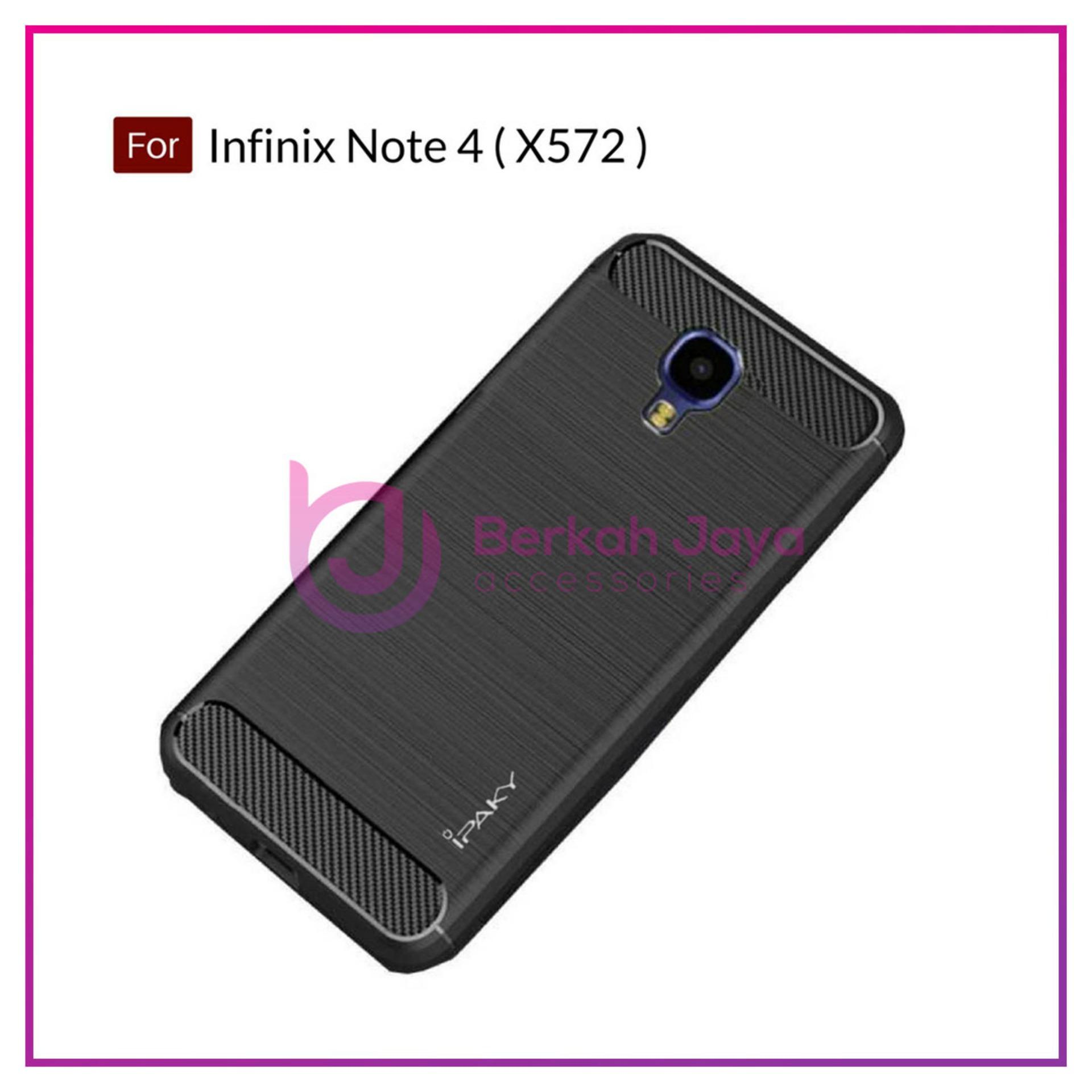 Buy Sell Cheapest Infinix Smart Cover Best Quality Product Deals Armor Case Hot 4 Pro X556 Bj Accessories Premium Carbon Shockproof Hybrid For Note X572 Black