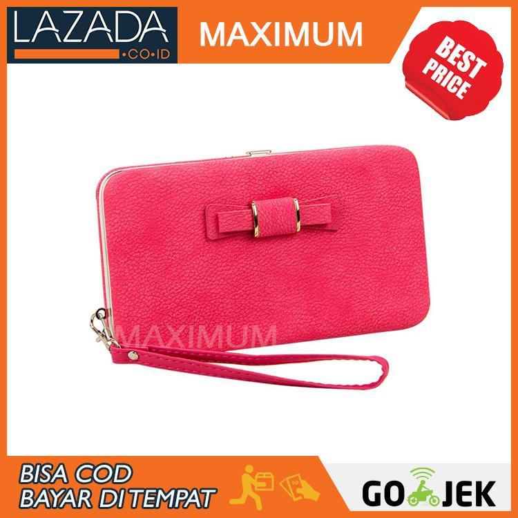 Dompet Wanita Genggam Bowknot Purse Clutches Handbag - Tas Pesta