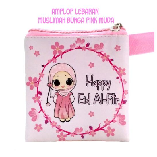Pouch Amplop Angpao THR Muslimah - Harga Per Lusin