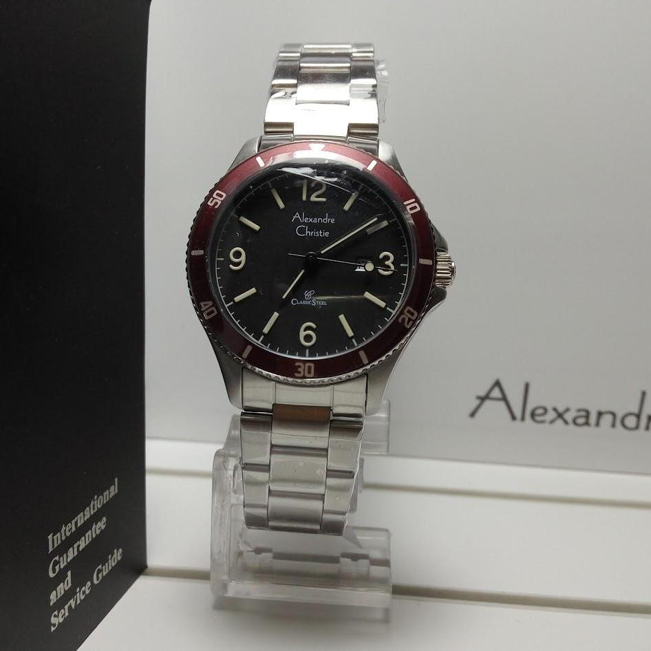 Buy Sell Cheapest Alexandre Christie Ac2392gz Best Quality Product Jam Tangan Wanita 8325 Silver Black Original Ac5011ld Sport Stainless Steel List Red