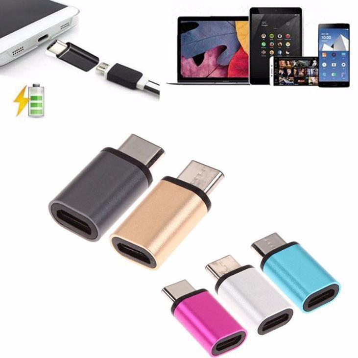 YBC 1Pcs USB-C Type-C to Micro USB Data Charging Adapter For Sony