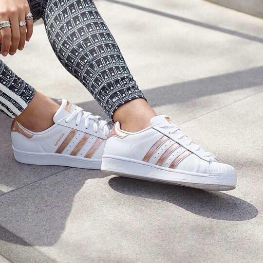 Adidas Original Superstar Foundation Pack White Triple Rose Gold - SEPATU MODERN - SEPATU ELEGAN - SEPATU BEST SELLER - SEPATU BEST QUALITY