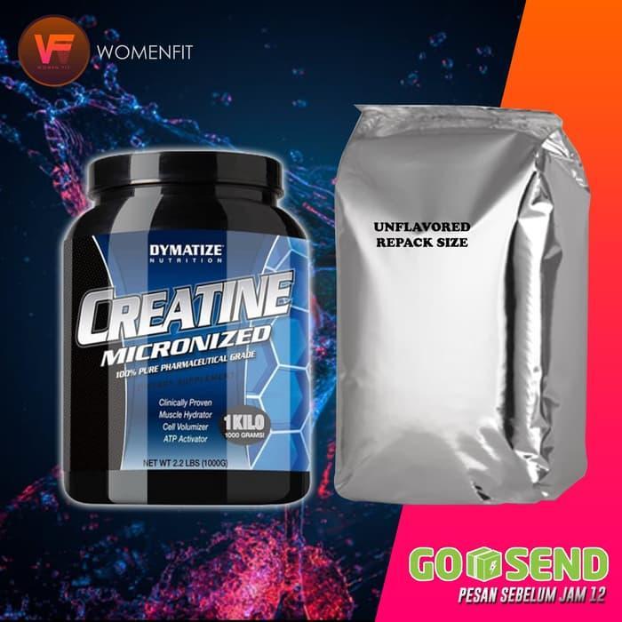 NEW ! Dymatize Creatine Monohydrate 100 gram ecer / keteng / repack
