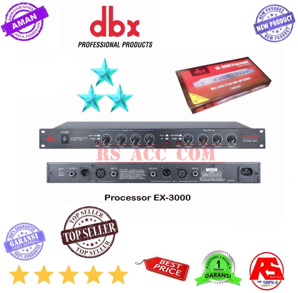 Processor Tune control Bass Dan Trible Dbx ex3000