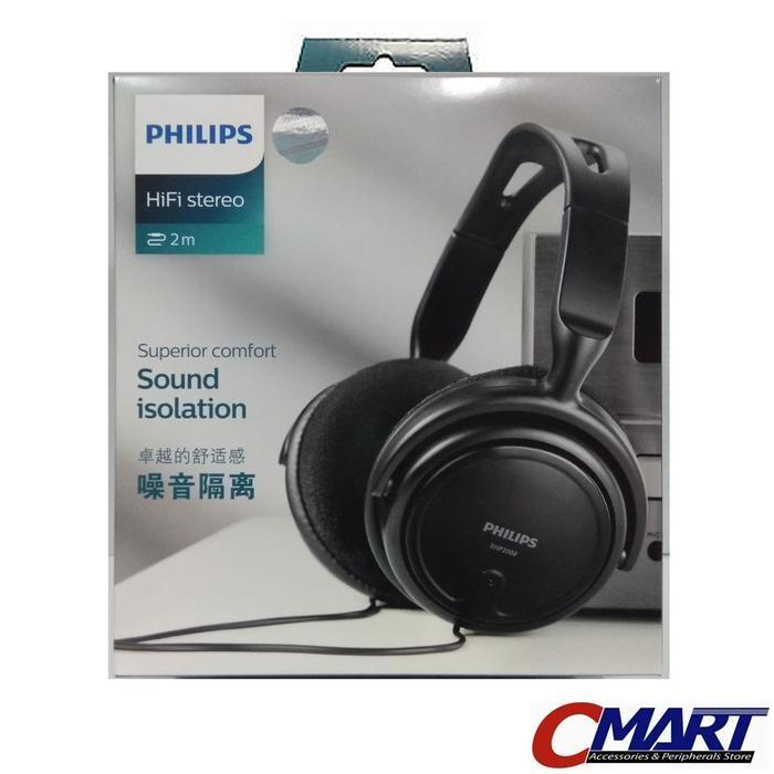 Philips SHP2000 HiFi Stereo Headphone Headset Earphone SHP 2000