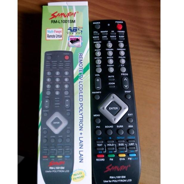Remote TV LED LCD Polytron, langsung Pakai